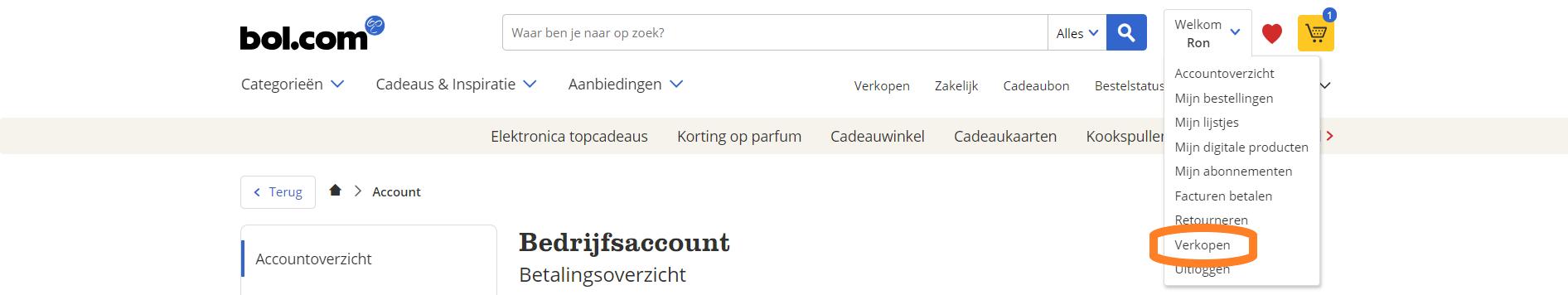 verkopen op bol.com